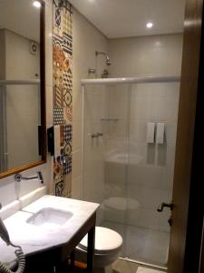 hotel villa lobos - banheiro