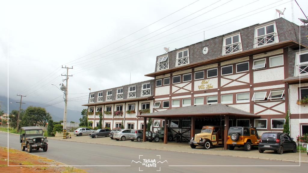 hotel villa lobos - fachada